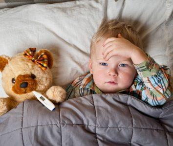 Rotavirus infections and children